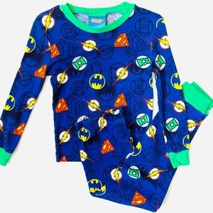 DC Comics Boys Justice League Pajama Set